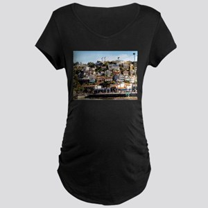 Houses On The Hill Maternity T-Shirt