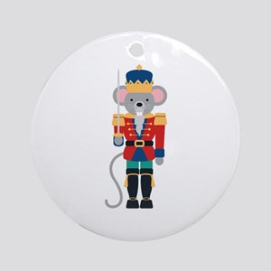 Nutcracker Ballet Story Mouse King Ornament (Round