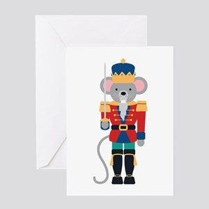 Nutcracker Ballet Story Mouse King Greeting Cards