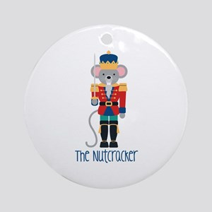 The Nutcracker Ornament (Round)