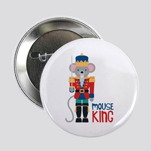 """mouse King 2.25"""" Button"""