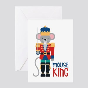 mouse King Greeting Cards