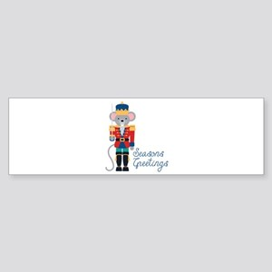 Seasons Greetings Bumper Sticker