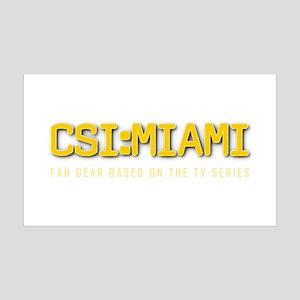 CSI:MIAMI 35x21 Wall Decal