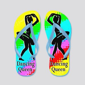 Rainbow Dancer Flip Flops