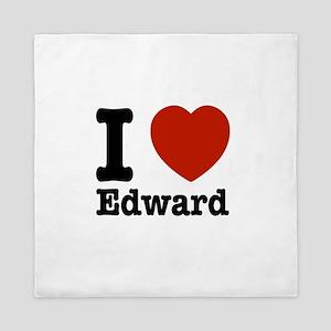 I love Edward Queen Duvet