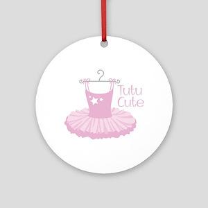 Tutu Cute Ornament (Round)