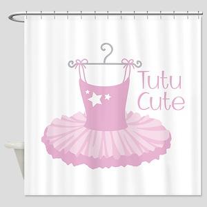 Tutu Cute Shower Curtain