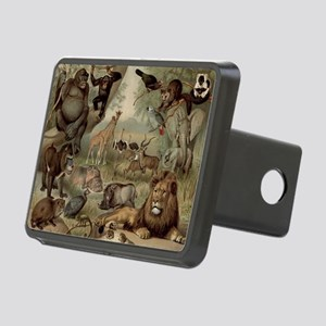 Vintage Jungle Hitch Cover