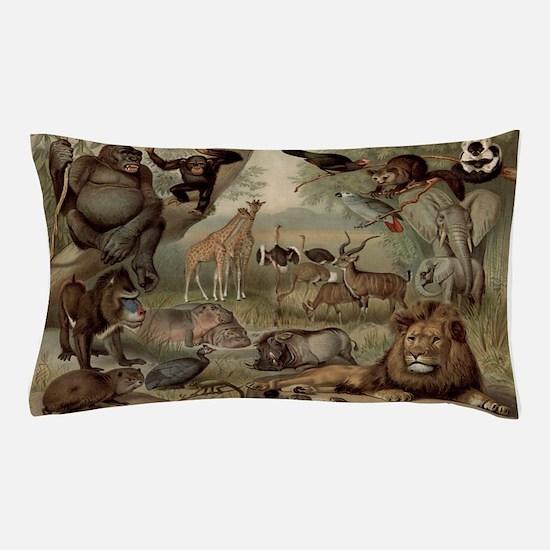 Vintage Jungle Pillow Case