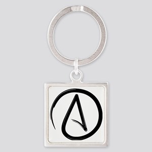 AtheistOne Square Keychain