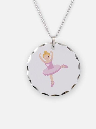 Ballet girl dancer Necklace