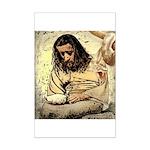 Jesus Tempted In The Desert Poster Print (Mini)
