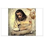 Jesus Tempted In The Desert Poster Art
