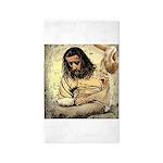 Jesus Tempted In The Desert 3'x5' Area Rug