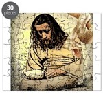 Jesus Tempted In The Desert Puzzle