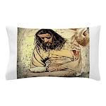Jesus Tempted In The Desert Pillow Case