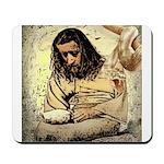 Jesus Tempted In The Desert Mousepad