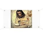 Jesus Tempted In The Desert Banner