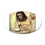 Jesus Tempted In The Desert Wall Sticker