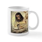 Jesus Tempted In The Desert Mugs