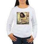 Jesus Tempted In The Desert Long Sleeve T-Shirt