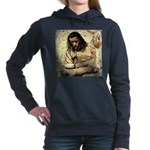 Jesus Tempted In The Desert Hooded Sweatshirt