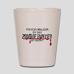 Zombie Hunter - Psych Major Shot Glass