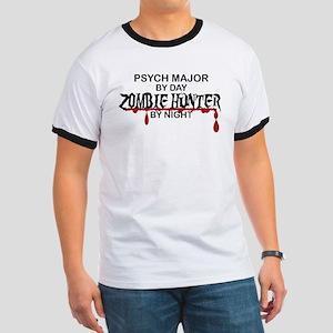 Zombie Hunter - Psych Major Ringer T