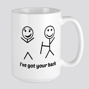 Ive got your back (for light items) Mugs
