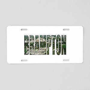 Brampton Aluminum License Plate