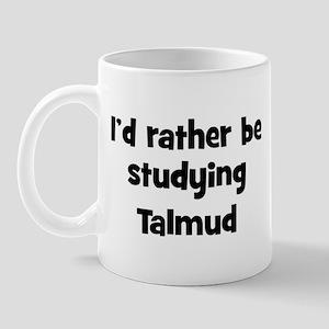 Study Talmud Mug