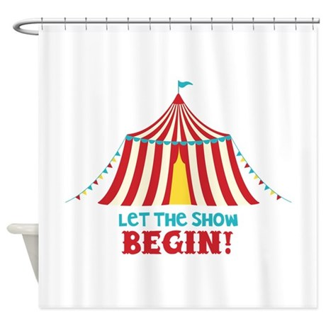 Shower Curtain  sc 1 st  CafePress & Circus Tent Shower Curtains | CafePress