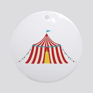 Circus Tent Ornament (Round)