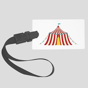 Circus Tent Luggage Tag