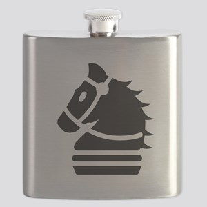 Knight Chess Piece Flask