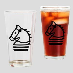Knight Chess Piece Drinking Glass