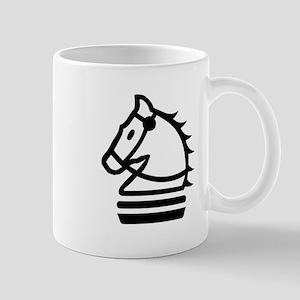 Knight Chess Piece Mugs
