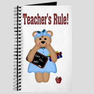 Teacher's Rule Journal