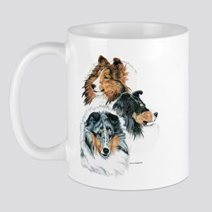 Sheltie Portraits Mug