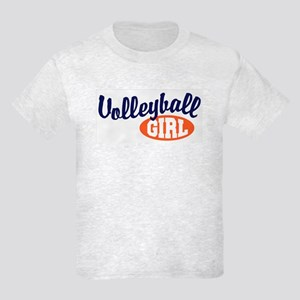 Volleyball Girl Kids Light T-Shirt