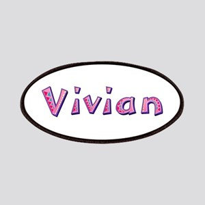 Vivian Pink Giraffe Patch