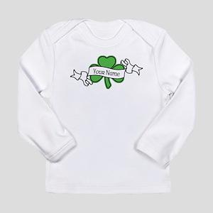 Shamrock CUSTOM TEXT Long Sleeve T-Shirt