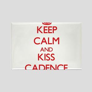 Keep Calm and Kiss Cadence Magnets