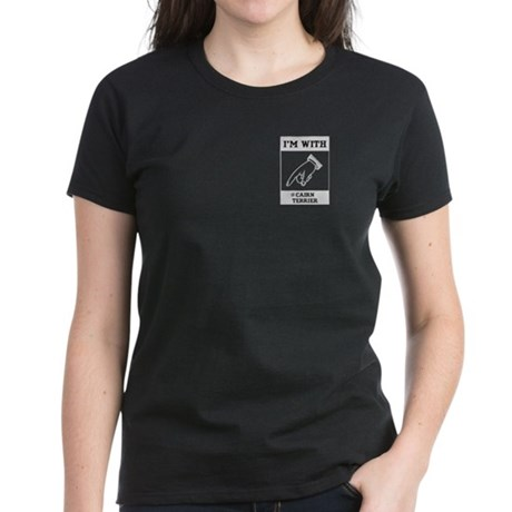 With the Cairn Women's Dark T-Shirt