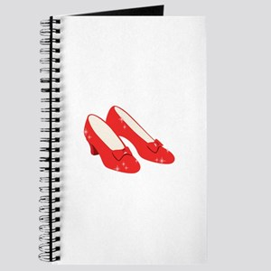 Wizard Of Oz Ruby Slippers Journal