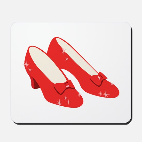 Wizard Of Oz Ruby Slippers Mousepad