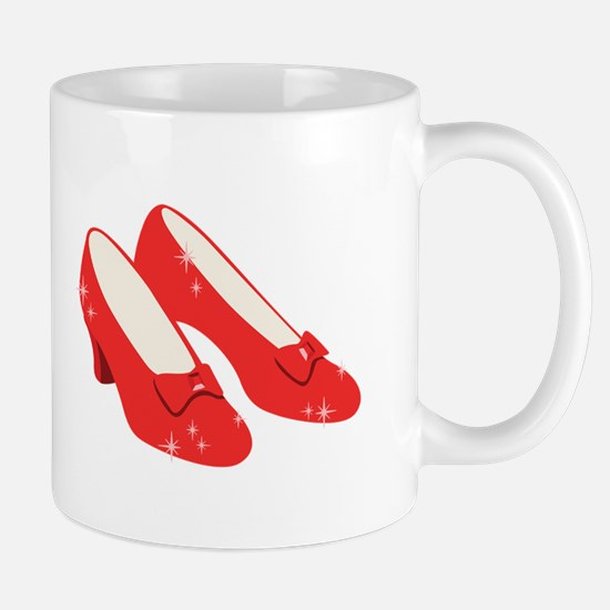 Wizard Of Oz Ruby Slippers Mugs