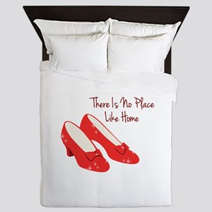 There Is No Place Like Home Queen Duvet