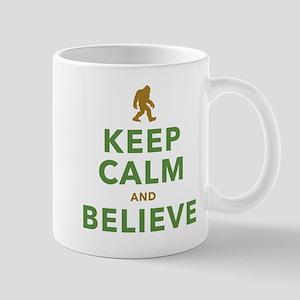 Keep Calm and Believe Mugs